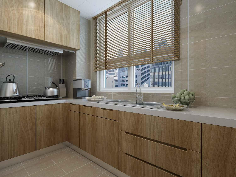 115平现代简约风格厨房装修效果图
