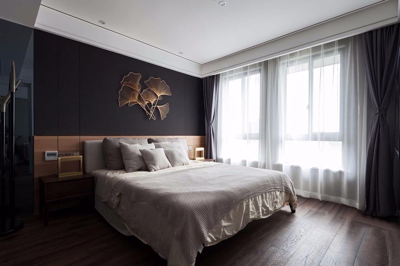 现代简约轻奢风卧室装修效果图