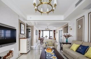 现代美式四居装修效果图