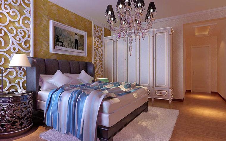 卧室背景墙装修设计图片
