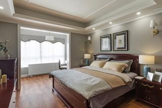 180平美式风格卧室装修效果图