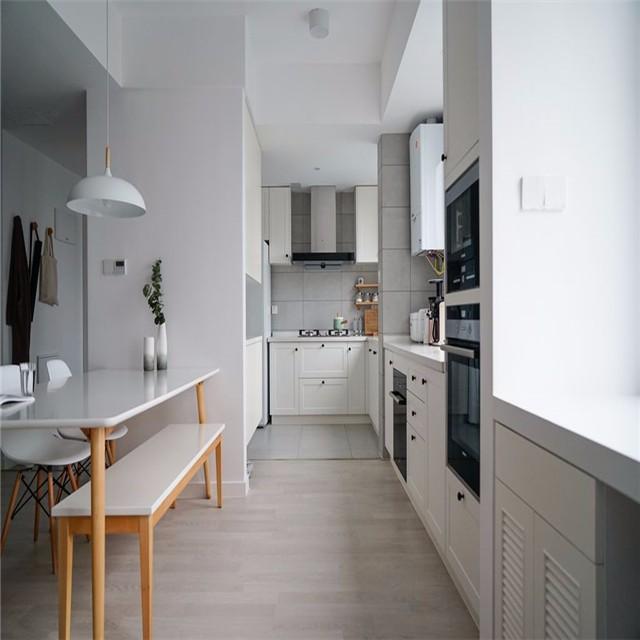 100㎡简约北欧风厨房装修设计图