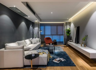 现代风三居装修设计效果图