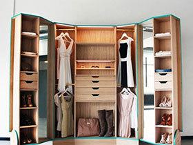 尽情买买买 10款大容量衣柜装修图