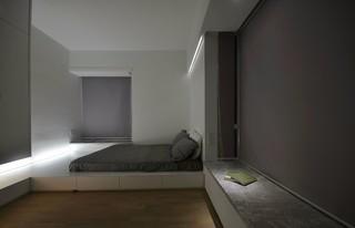 简约日式风格卧室装修效果图