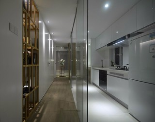 简约日式风格厨房装修效果图