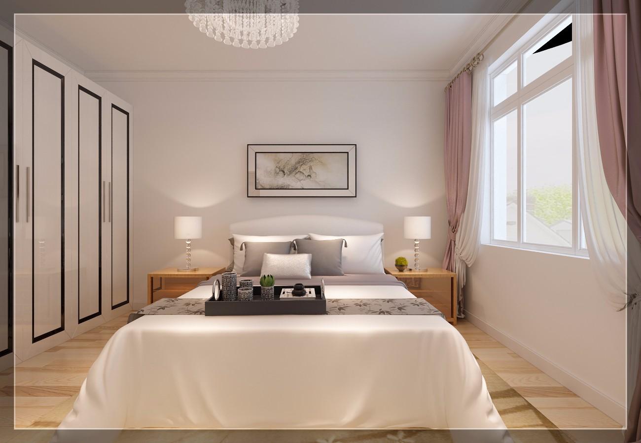 小户型简约风格卧室装修效果图