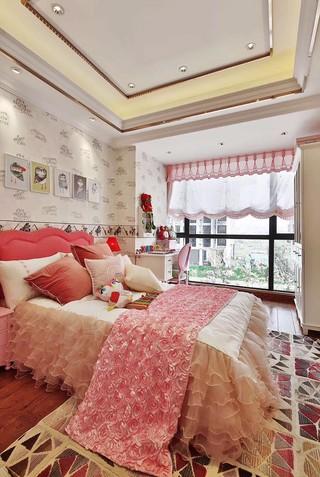 三居室简欧风格儿童房装修效果图