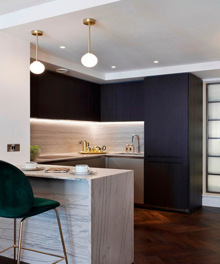 优雅英式公寓厨房装修效果图