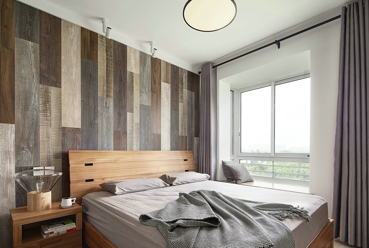 116㎡北欧风格卧室装修效果图