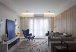 76平米现代风格客厅装修效果图