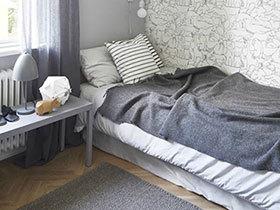 最轻松的呼吸 10款北欧风格卧室装修图