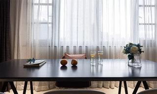 混搭风格装修窗帘图片