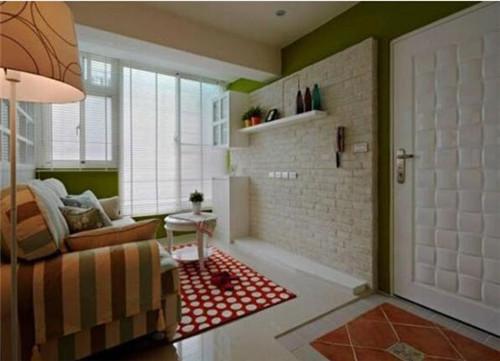 两居室改三居室装修实例  70平两居室变身美式三居