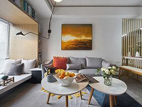 现代简约风格装修图 简装房子让人惊喜