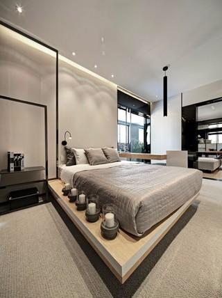 现代风格二居装修效果图