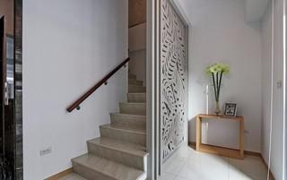 现代混搭三居楼梯装修效果图