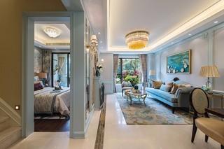 大户型法式风格客厅装修效果图