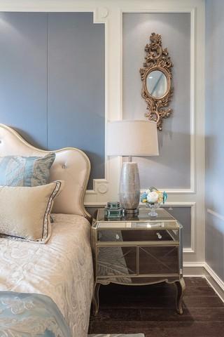 大户型法式风格装修床头柜设计图