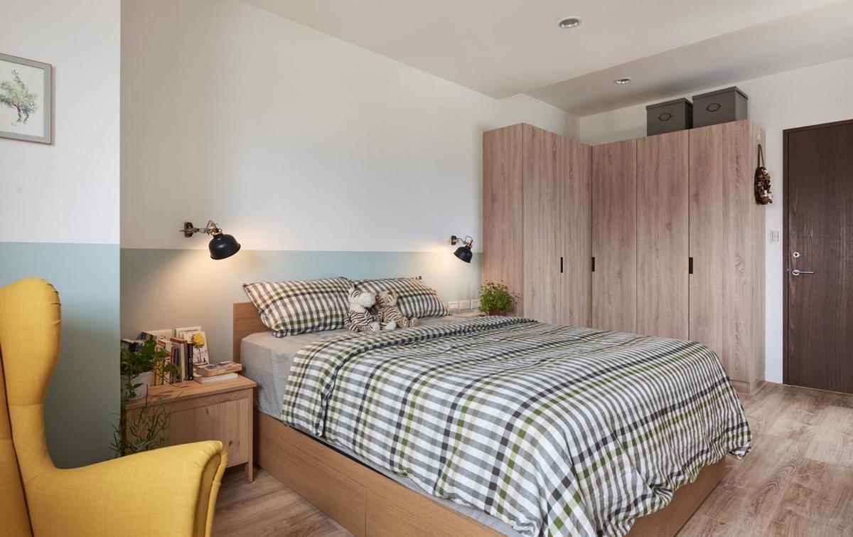MUJI风格二居卧室装修效果图