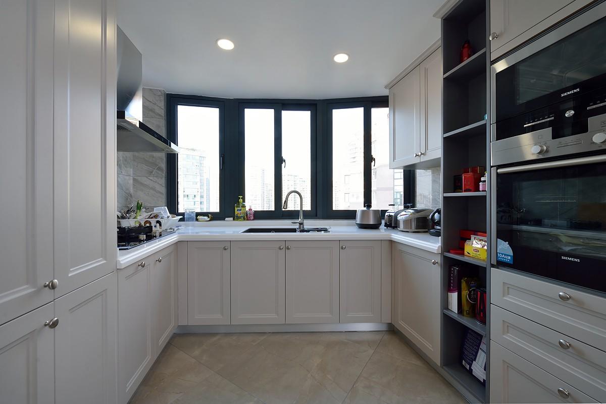 85平混搭风格厨房装修效果图
