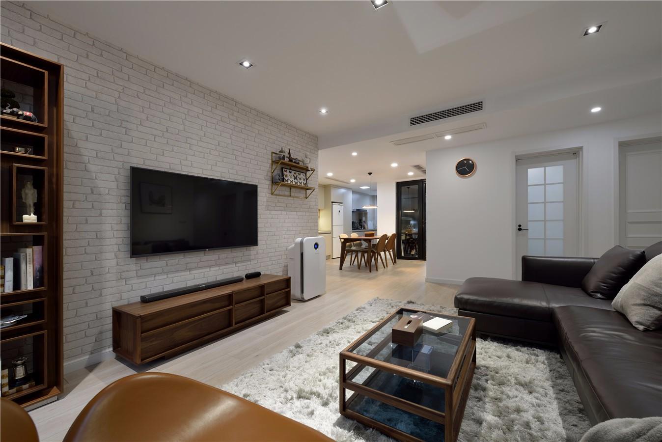 150平现代简约客厅装修效果图