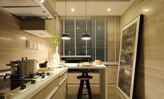 大户型样板间厨房装修效果图