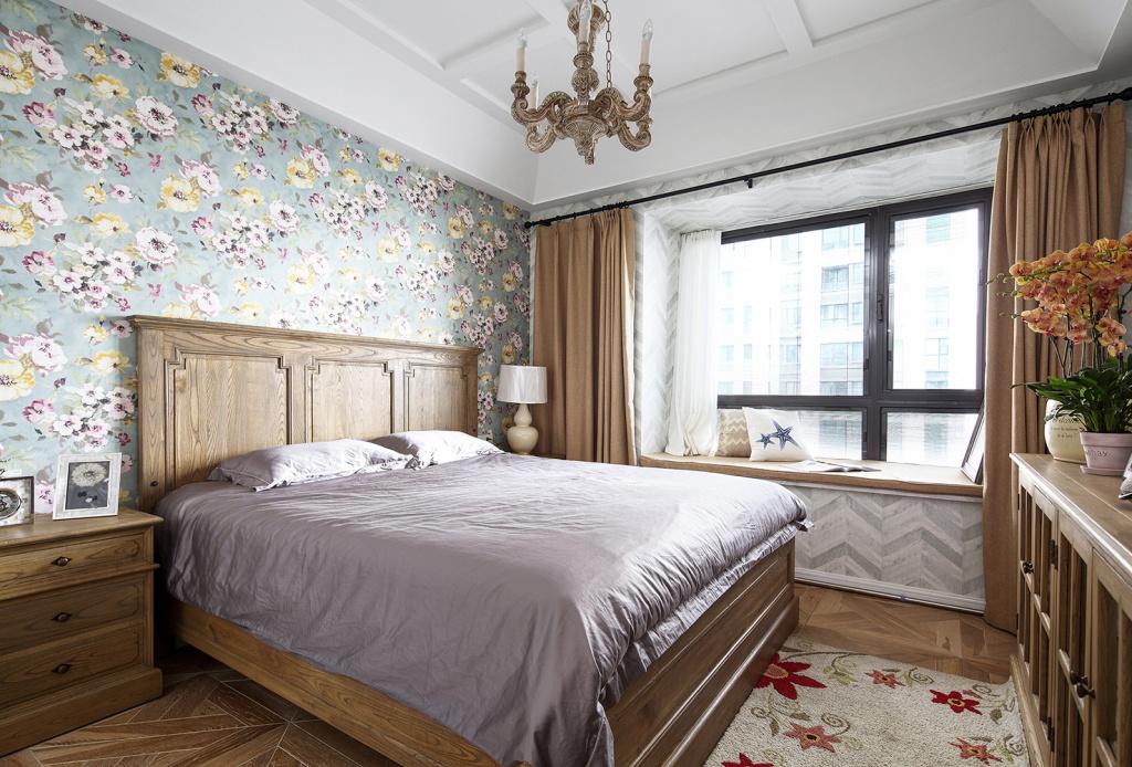 140平米三居卧室装修效果图