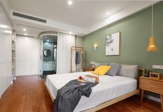 三居室北欧风格卧室装修效果图