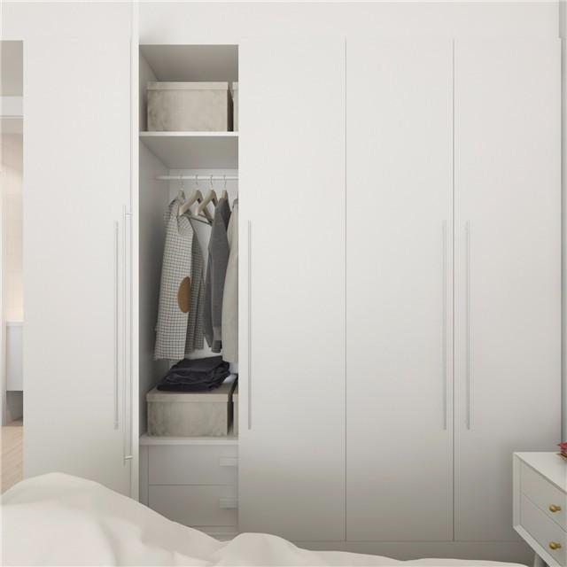 一居室小户型简约风衣柜装修效果图
