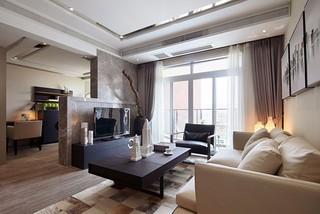 65㎡现代一居室装修效果图