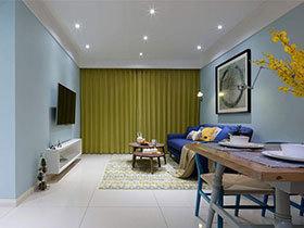 86㎡多彩公寓装修设计 生活的颜色
