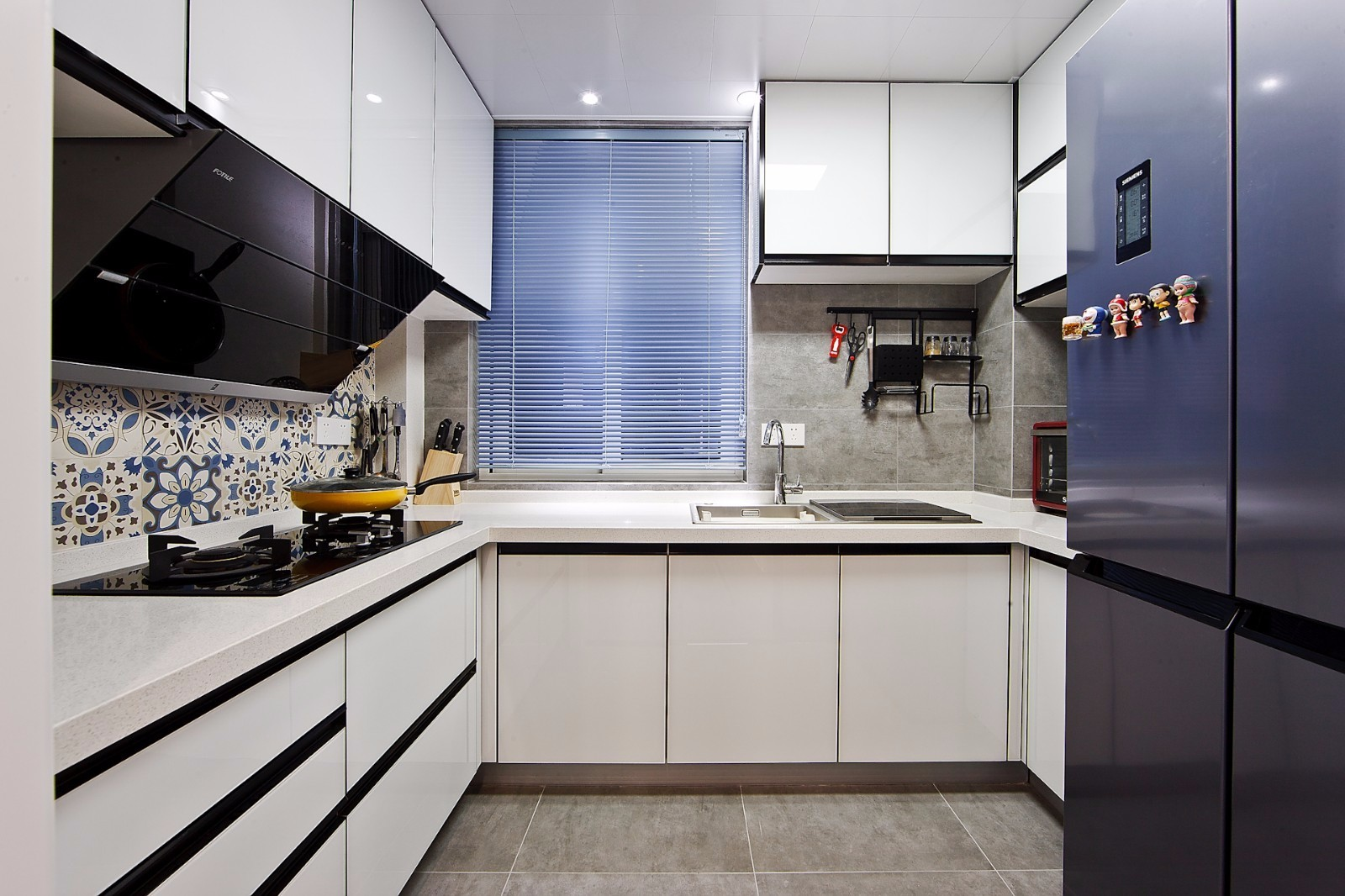 二居室北欧风格厨房装修效果图