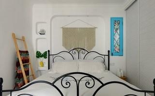 二居室地中海风格卧室装修效果图