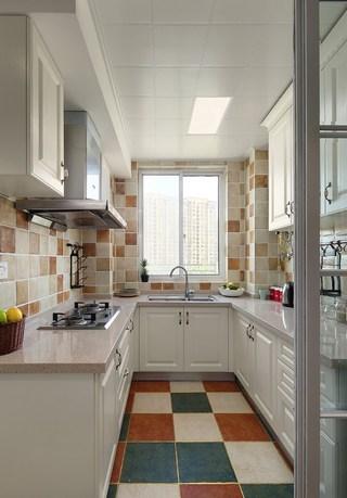 二居室地中海风格厨房每日首存送20