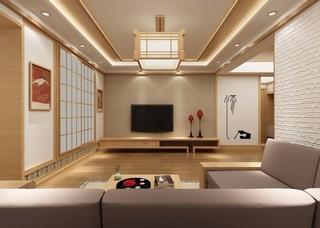 75平米日式风格装修效果图