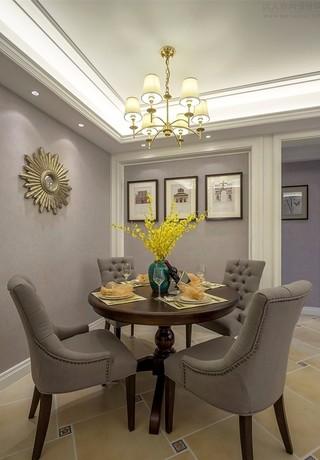 美式风三居室餐厅装修效果图