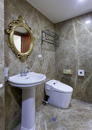 68㎡欧式风格卫生间装修效果图