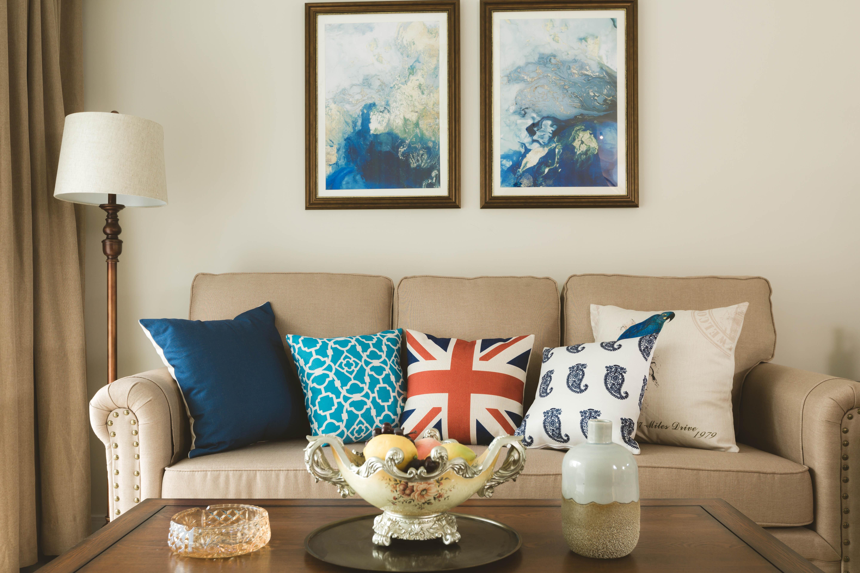 100平米美式风格装修沙发设计图