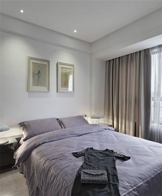 二居室现代风格卧室装修效果图