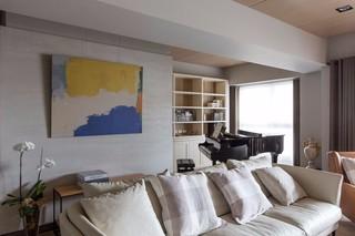 160平现代风格沙发背景墙装修效果图