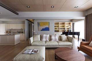 160平现代风格客厅装修效果图
