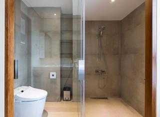160平现代风格淋浴房装修效果图