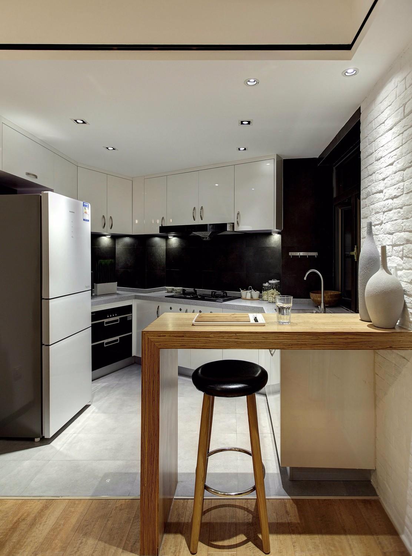 140平现代简约风格厨房装修效果图