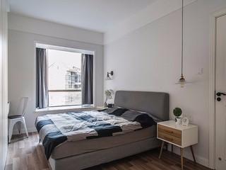 110㎡北欧风格卧室装修效果图