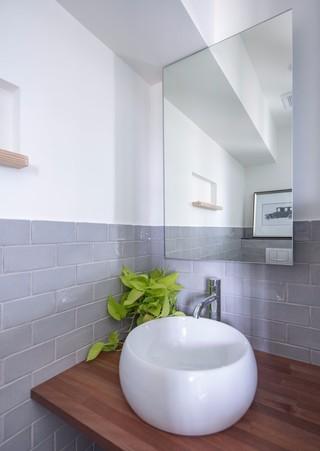 简约北欧两居室洗手台装修效果图