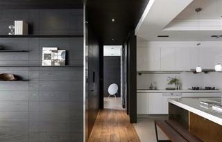 155平现代风格厨房装修效果图