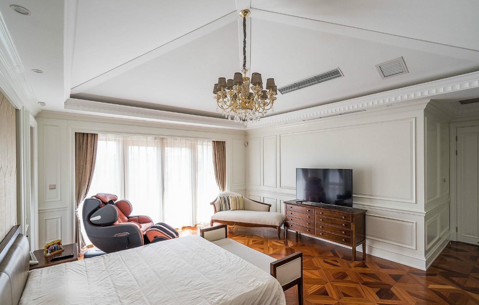 欧式混搭风格别墅客厅装修效果图