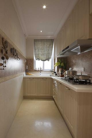 125㎡美式二居厨房装修效果图