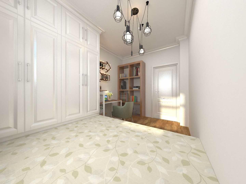 106平米三居卧室衣柜装修效果图